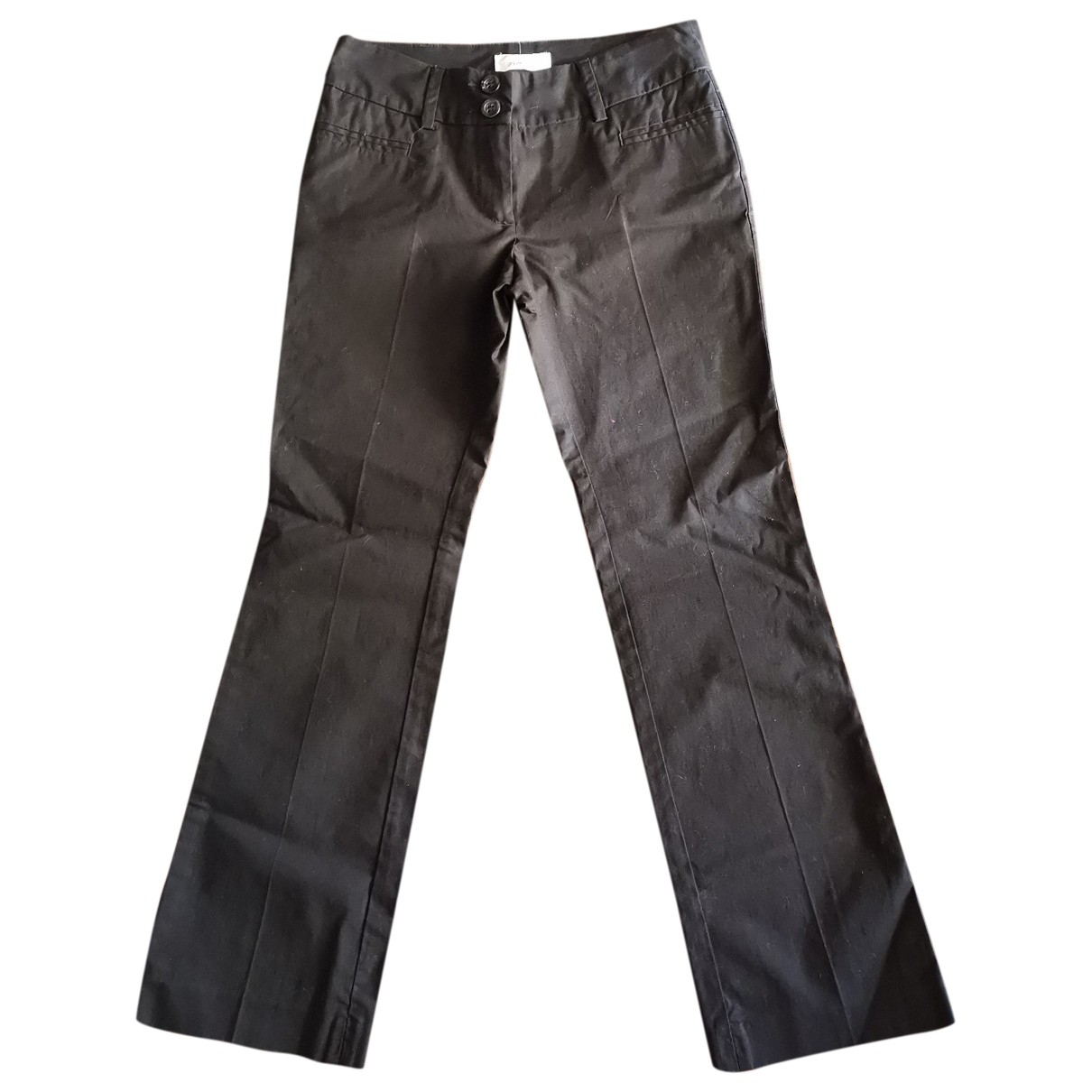 Pinko \N Black Cotton Trousers for Kids 8 years - up to 128cm FR