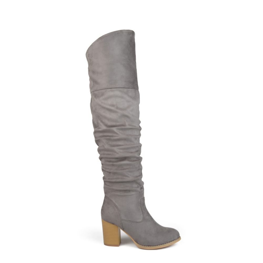 Journee Collection Womens Kaison Stacked Tall Boots