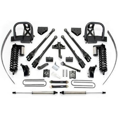 Fabtech 8 Inch 4 Link Lift Kit w/Dirt Logic SS 4.0 Coilovers & Rear Dirt Logic SS Shocks - K2018DL
