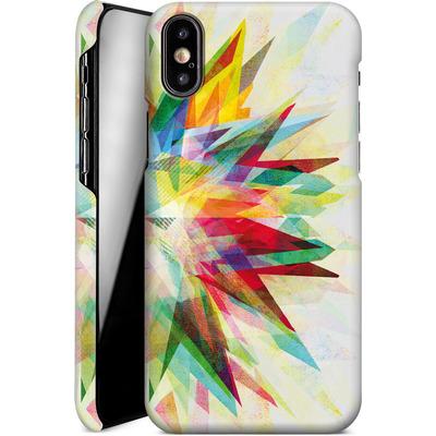 Apple iPhone XS Smartphone Huelle - Colorful 6 von Mareike Bohmer
