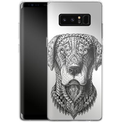 Samsung Galaxy Note 8 Silikon Handyhuelle - Labrador von BIOWORKZ