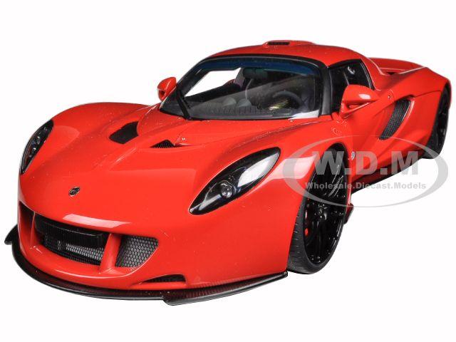 Hennessey Venom GT Red 1/18 Diecast Model Car by Autoart