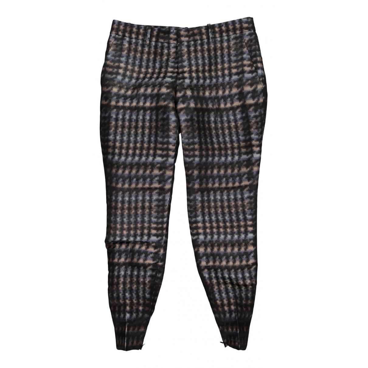 Gucci N Multicolour Silk Trousers for Women 42 IT