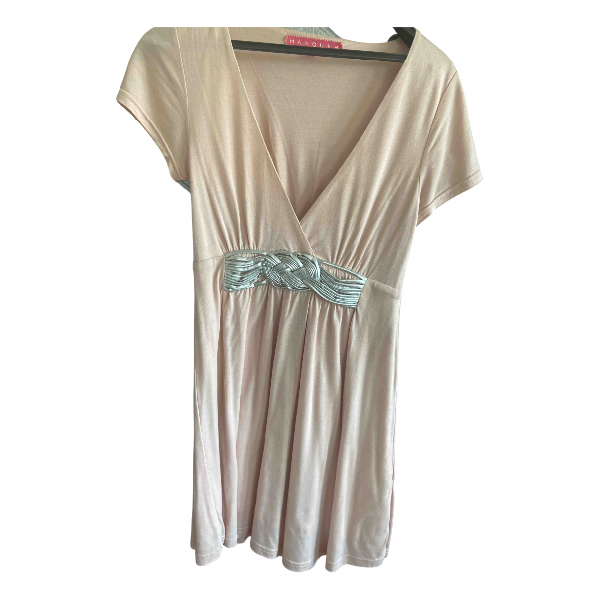 Manoush - Robe   pour femme - rose