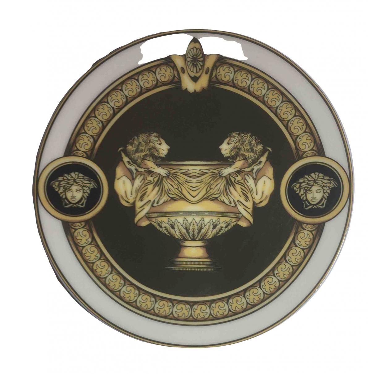 Versace \N Tischkultur in  Gold Vergoldet
