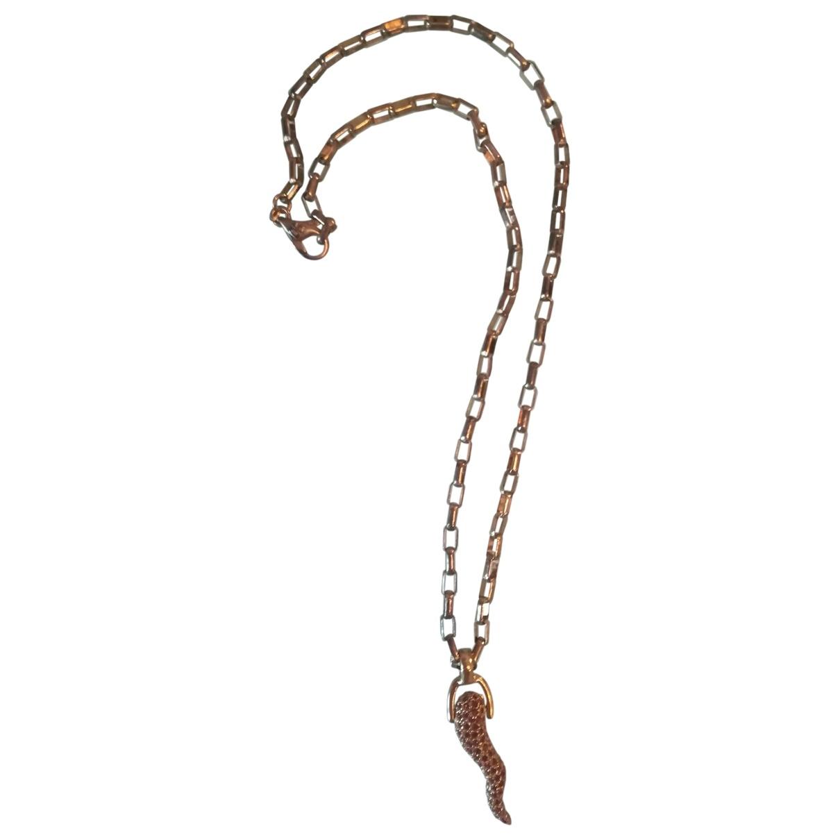 Dolce & Gabbana - Collier   pour femme en acier - dore