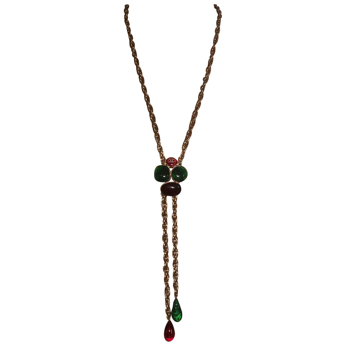 Chanel Baroque Multicolour Metal necklace for Women N