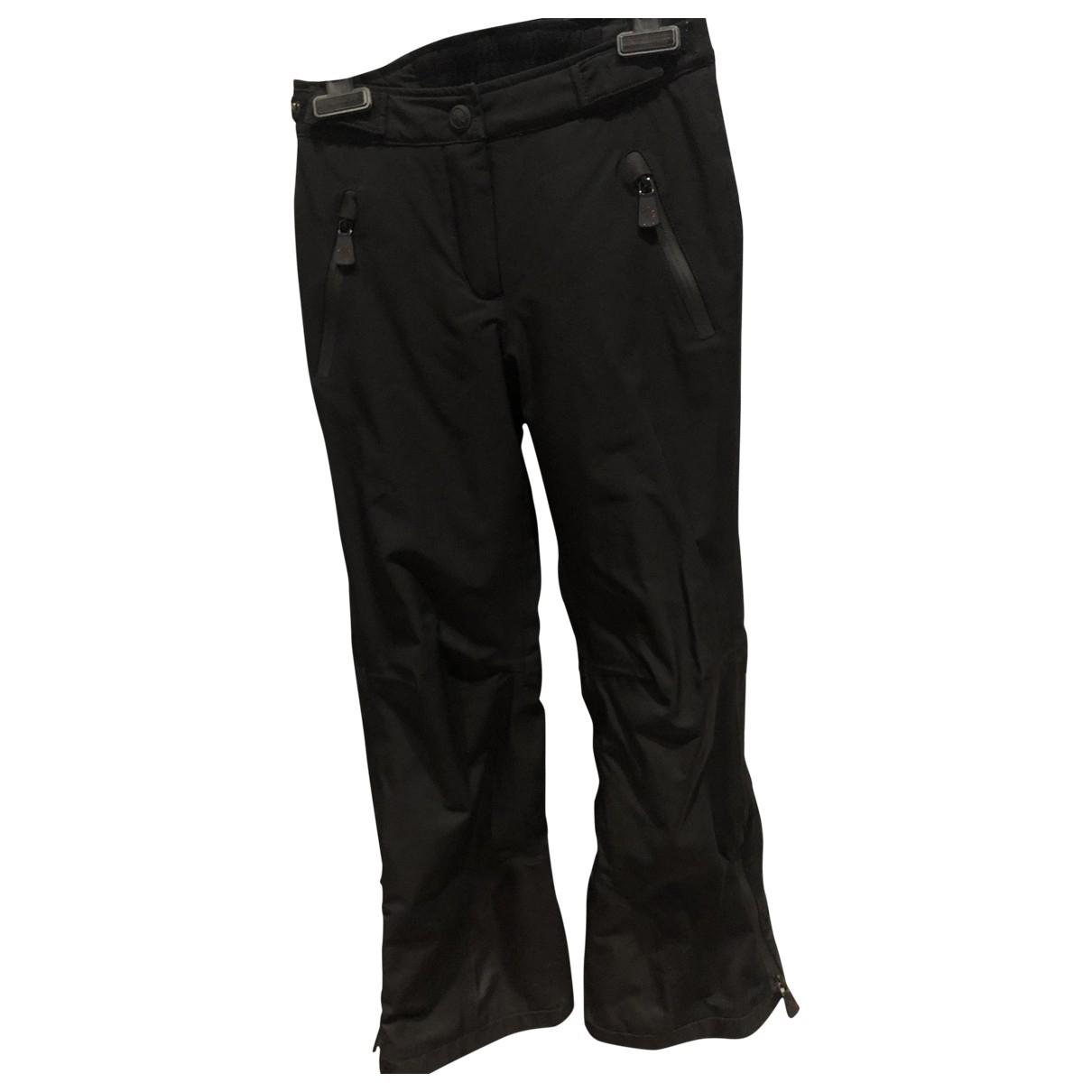 Moncler - Pantalon   pour enfant en elasthane - noir