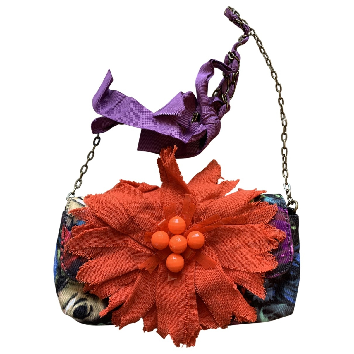 Lanvin For H&m \N Multicolour Cloth Purses, wallet & cases for Women \N