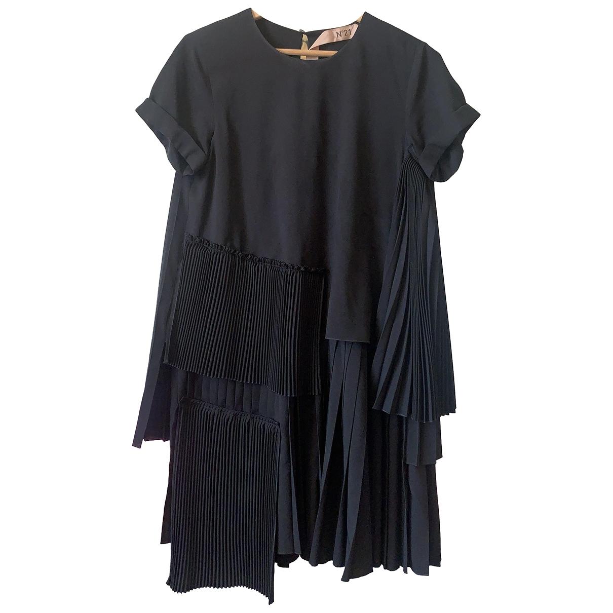 N°21 \N Kleid in  Schwarz Polyester