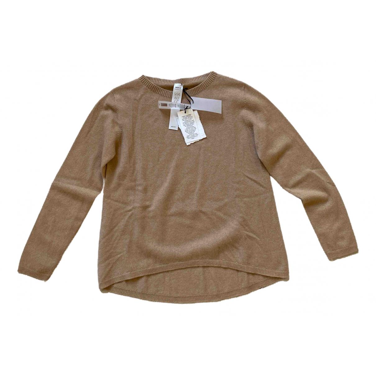 Non Signe / Unsigned \N Pullover in  Beige Kaschmir