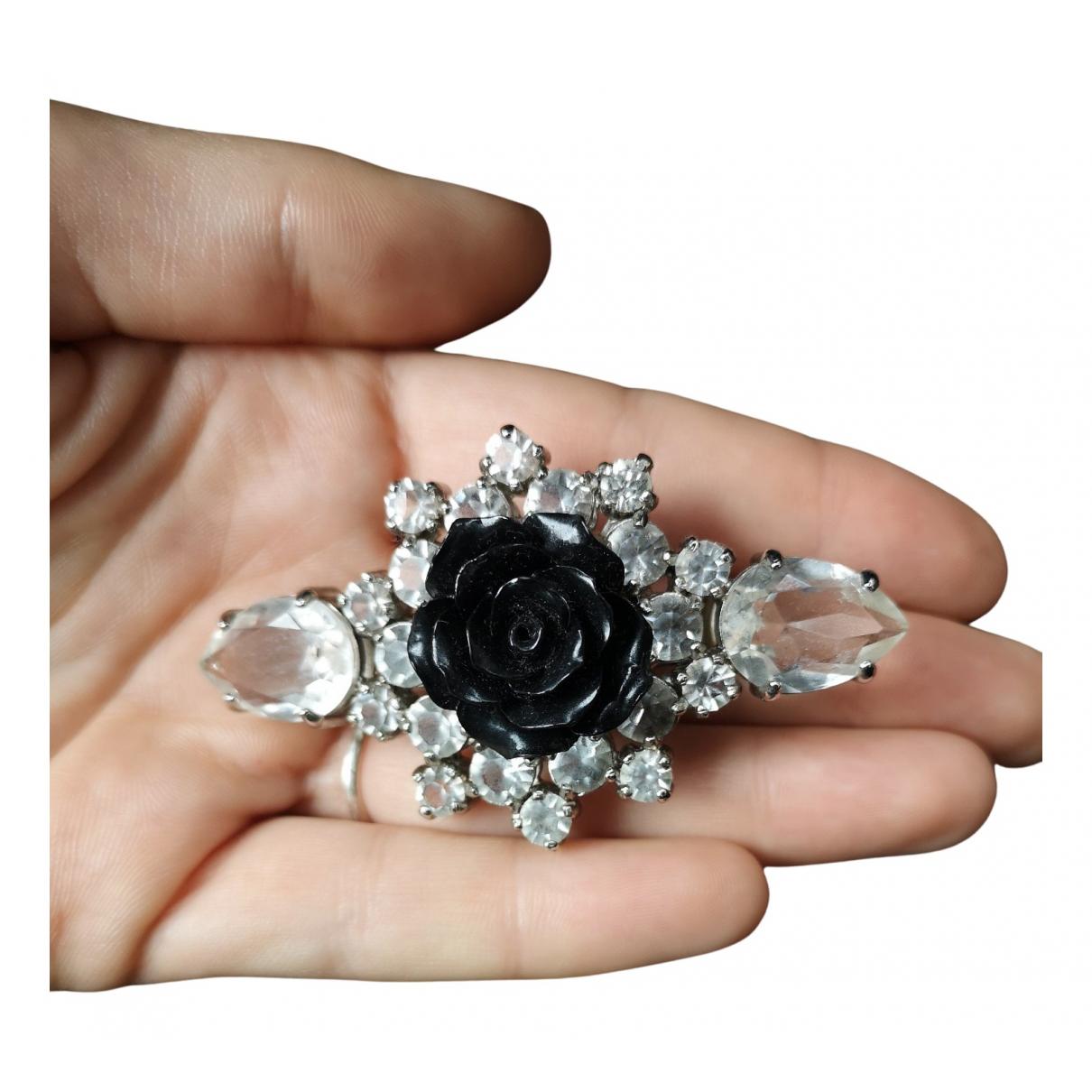 Prada \N Haarschmuck in  Schwarz Kristall