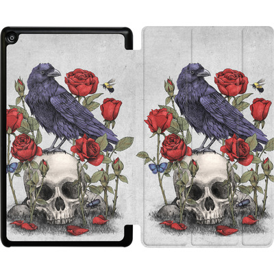 Amazon Fire HD 8 (2018) Tablet Smart Case - Memento Mori von Terry Fan