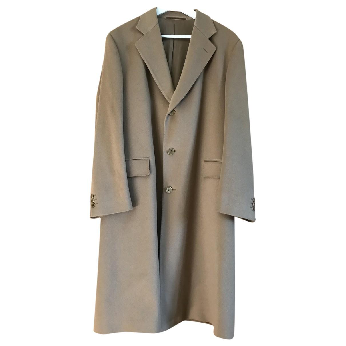Loro Piana - Manteau   pour homme en laine - beige