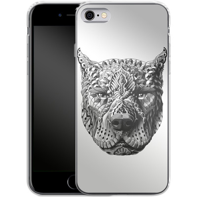 Apple iPhone 6s Silikon Handyhuelle - Pitbull von BIOWORKZ