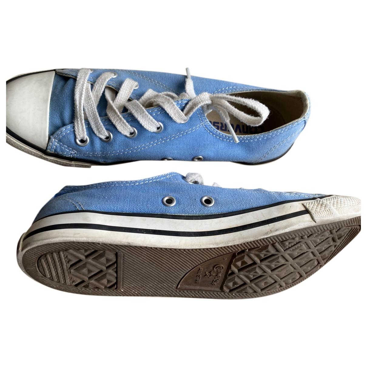 Converse \N Sneakers in  Tuerkis Leinen