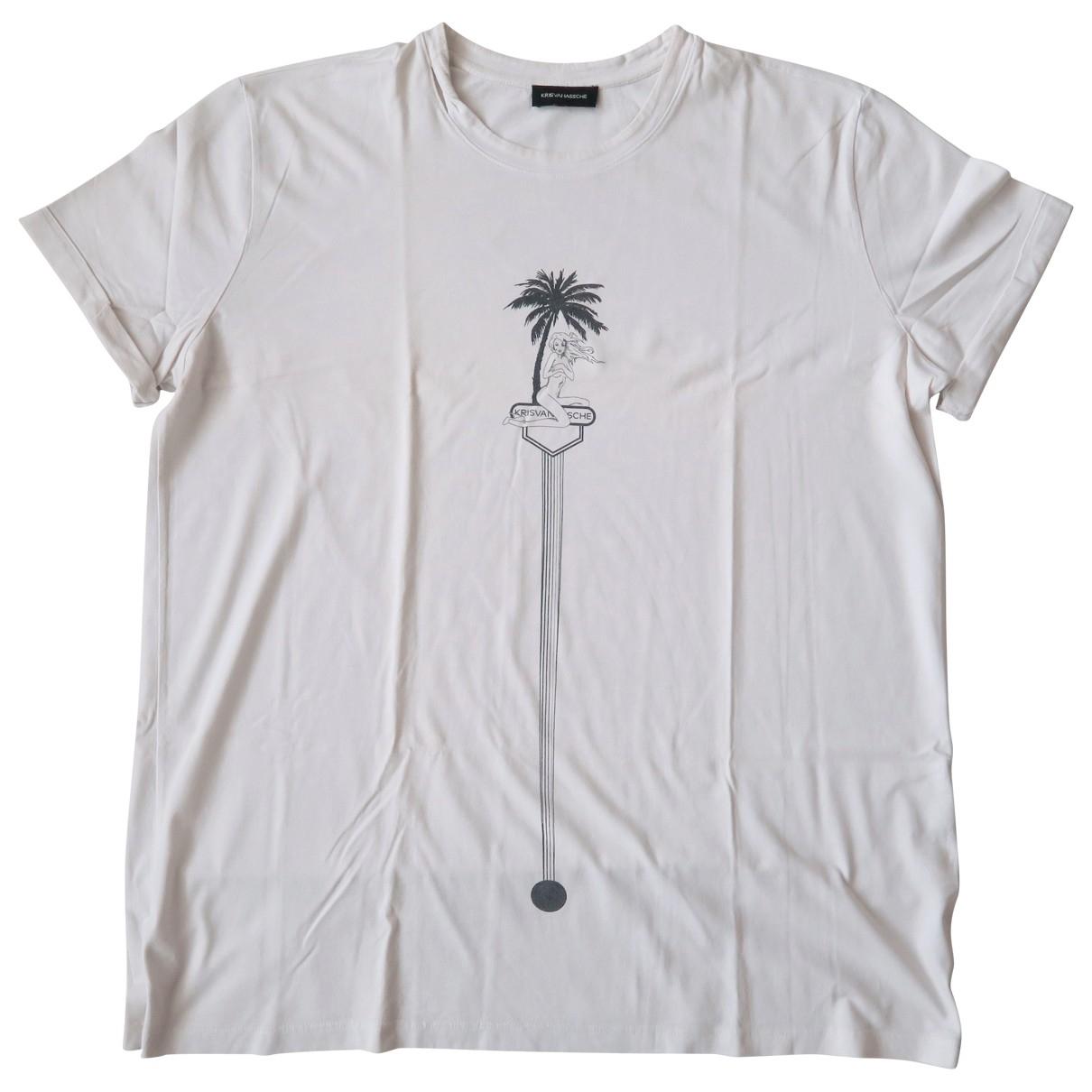 Kris Van Assche \N T-Shirts in  Weiss Baumwolle