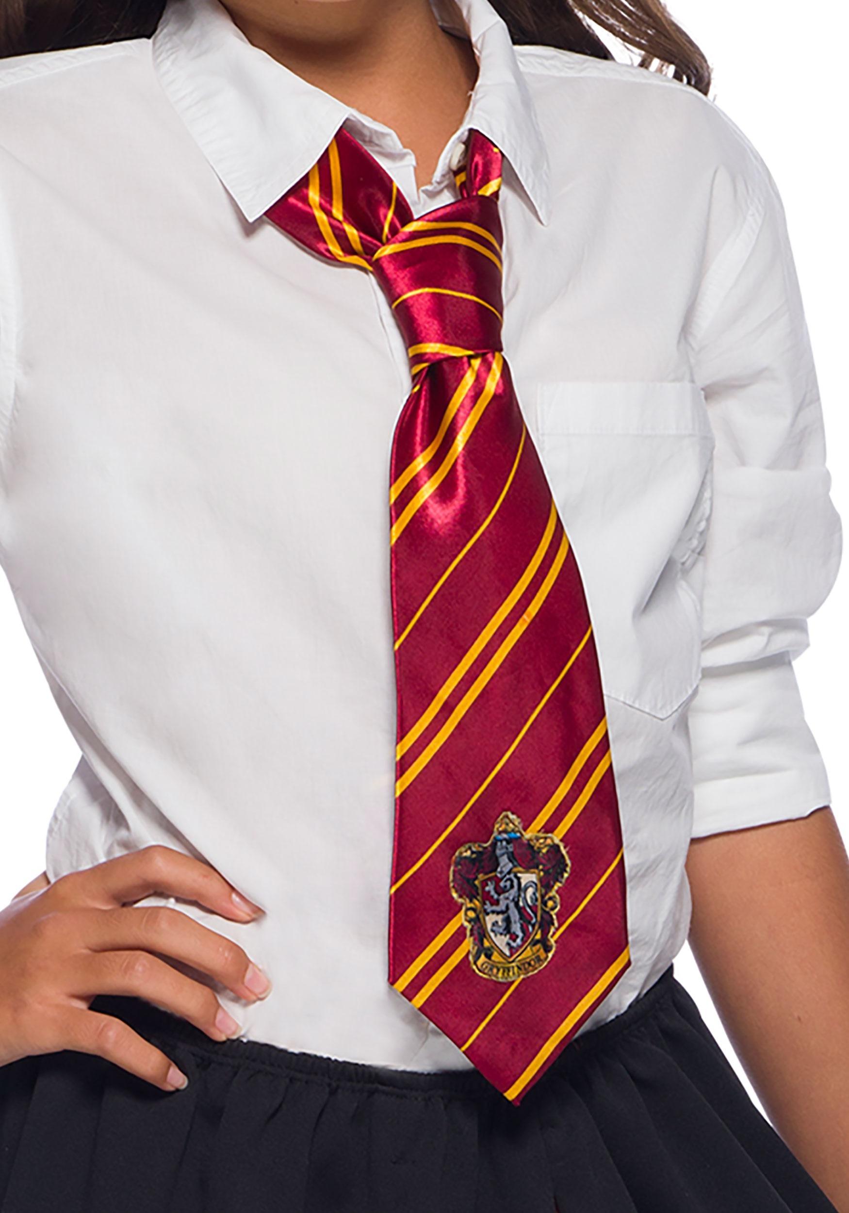 Harry Potter Gryffindor Tie with Emblem