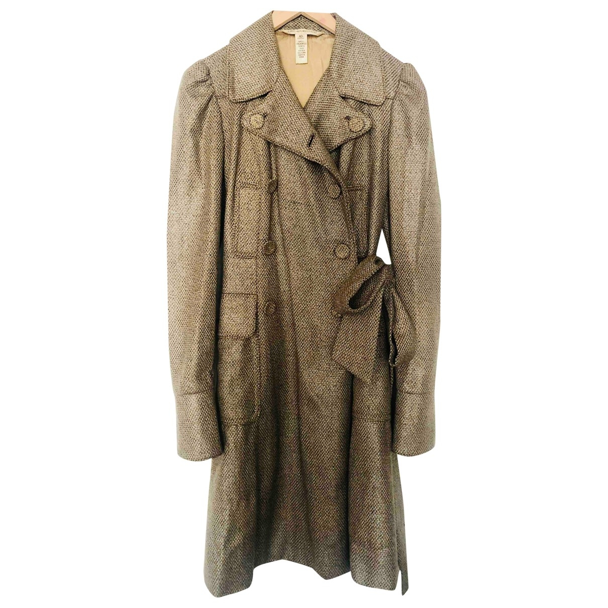 Diane Von Furstenberg - Manteau   pour femme - camel