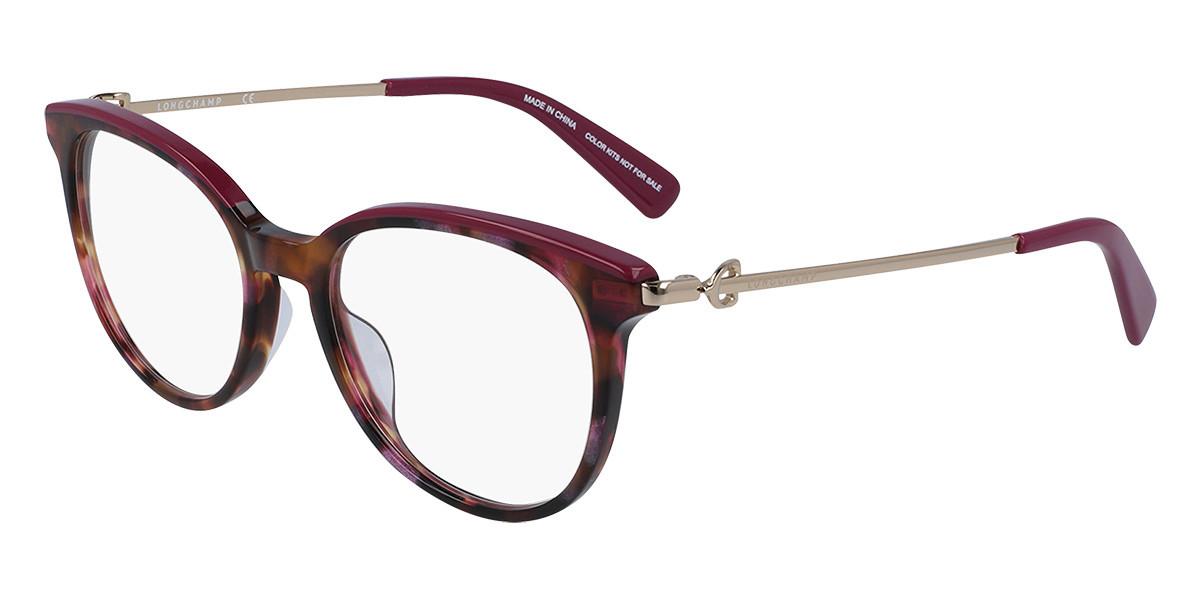 Longchamp LO2667 504 Women's Glasses Pink Size 51 - Free Lenses - HSA/FSA Insurance - Blue Light Block Available