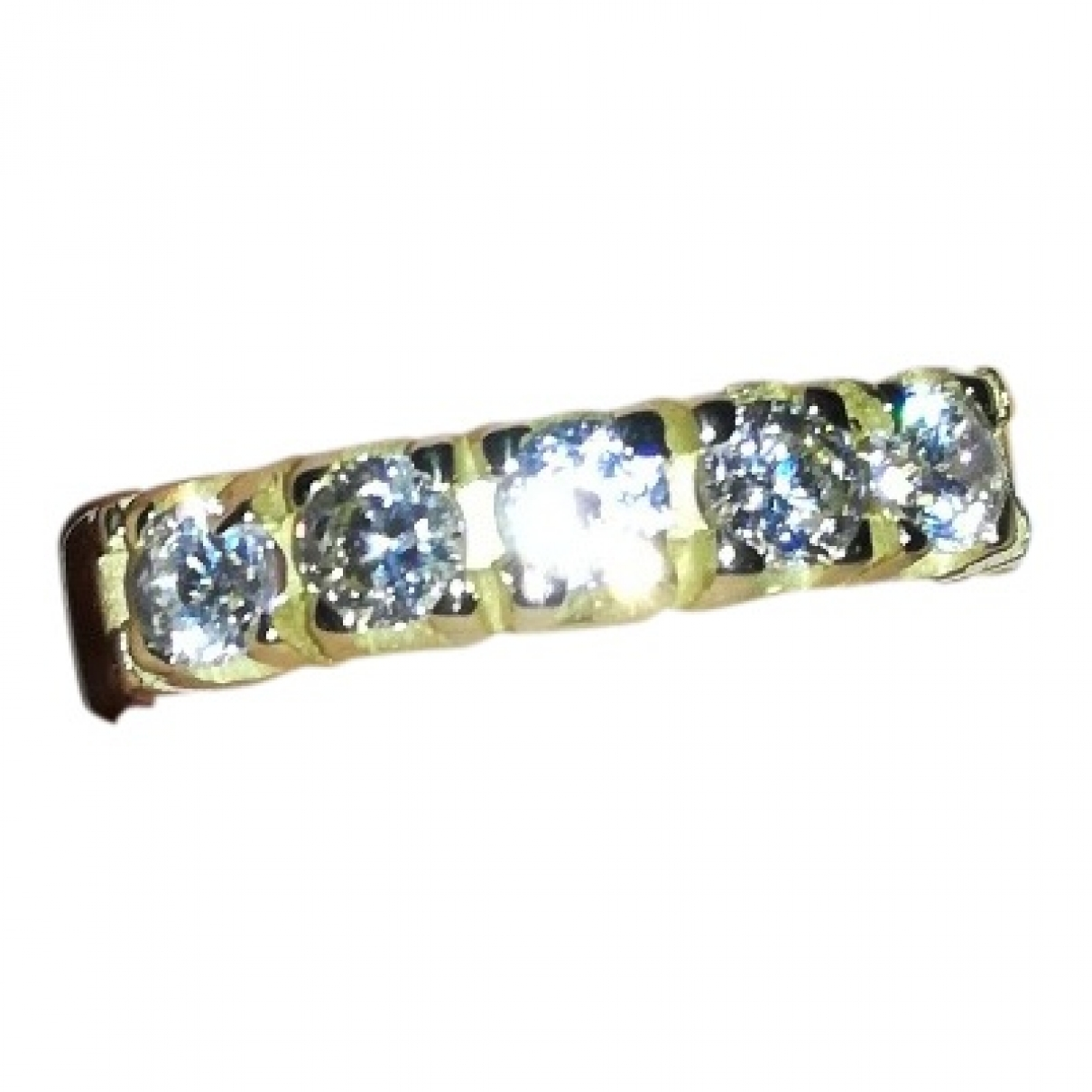 Non Signé / Unsigned \N Yellow Yellow gold ring for Women \N