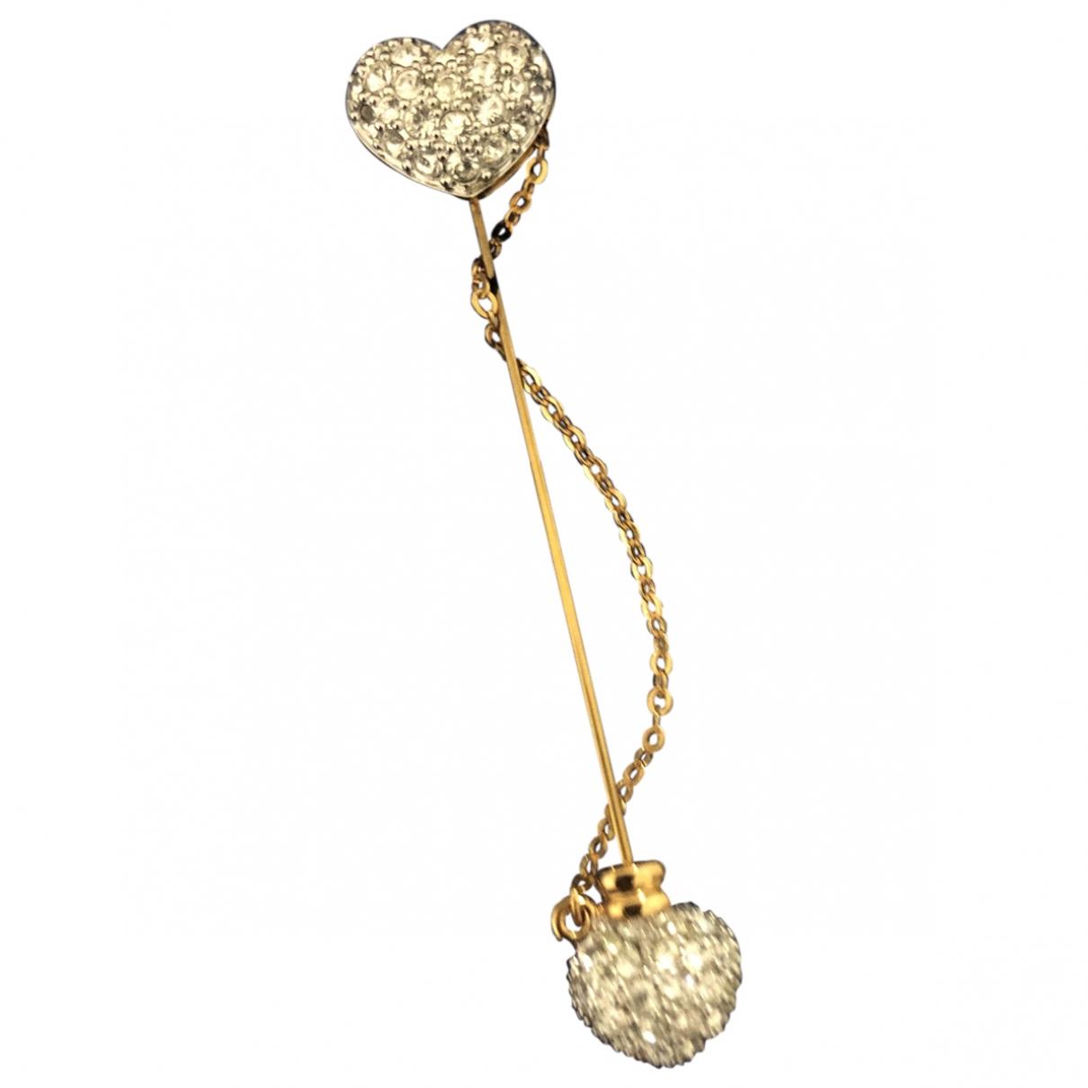 Swarovski - Broche   pour femme en cristal - dore