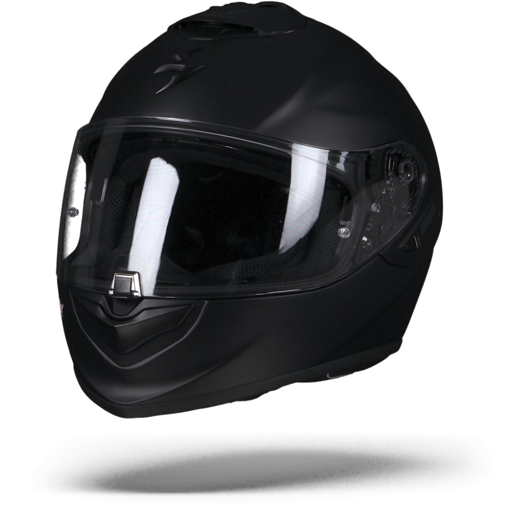 Scorpion EXO-1400 Air Solid Casco Integral Negro Mate XL