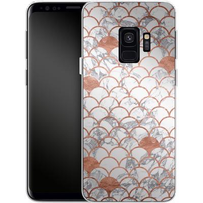 Samsung Galaxy S9 Silikon Handyhuelle - Little Mermaid von caseable Designs