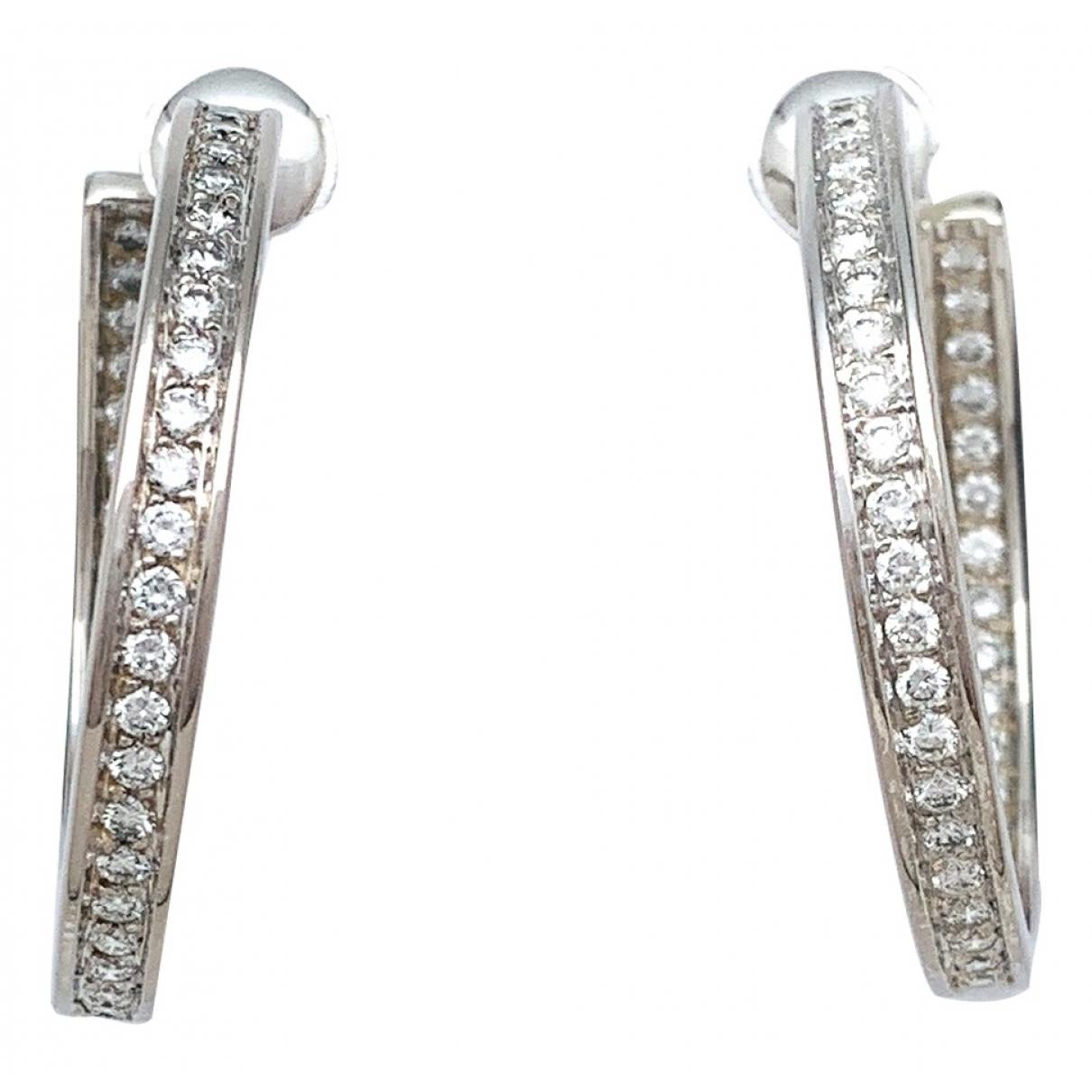 Cartier \N OhrRing in  Silber Weissgold