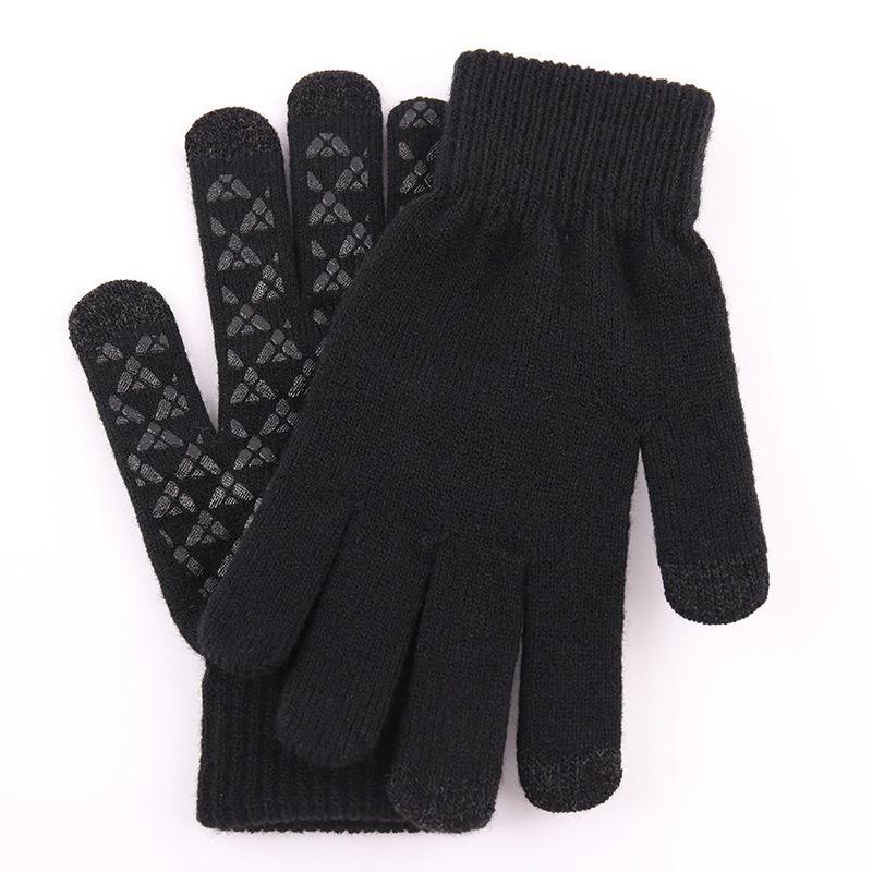 Ericdress Color Block Simple Winter Gloves