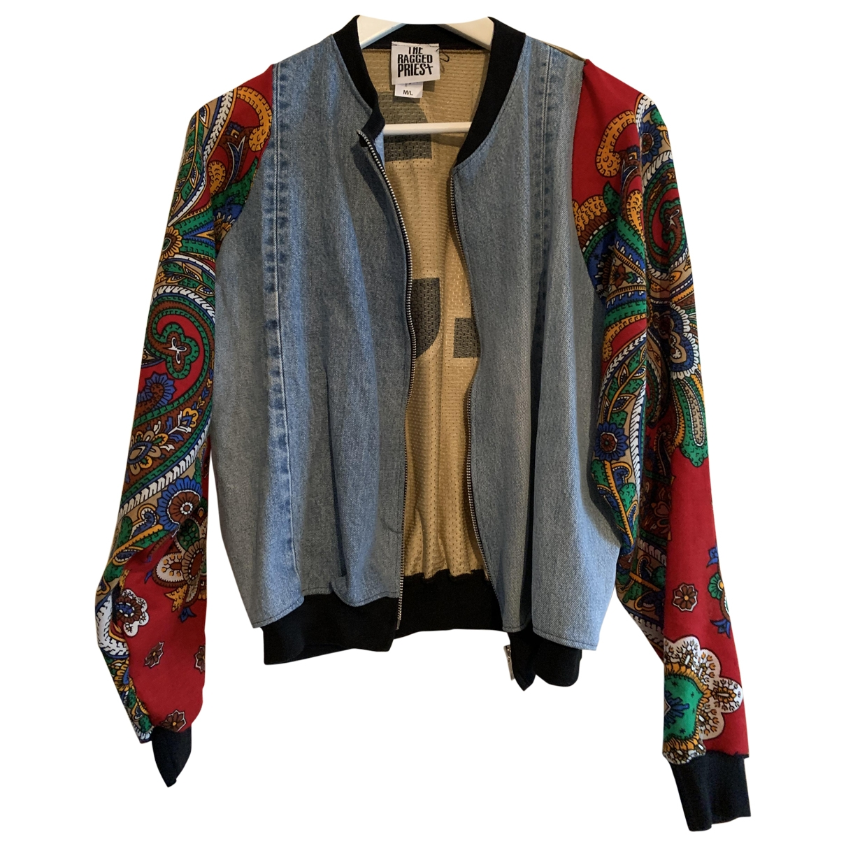 The Ragged Priest - Veste   pour femme en denim - multicolore