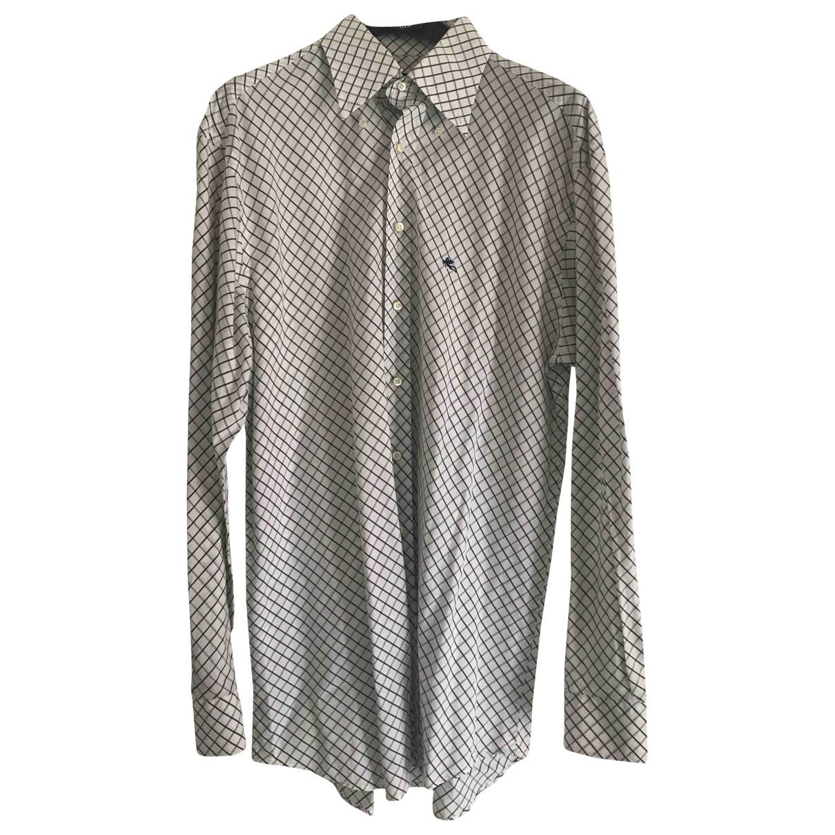 Etro - Chemises   pour homme en coton - blanc