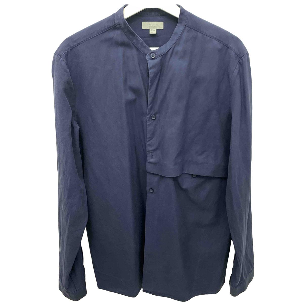 Cos \N Hemden in  Blau Baumwolle