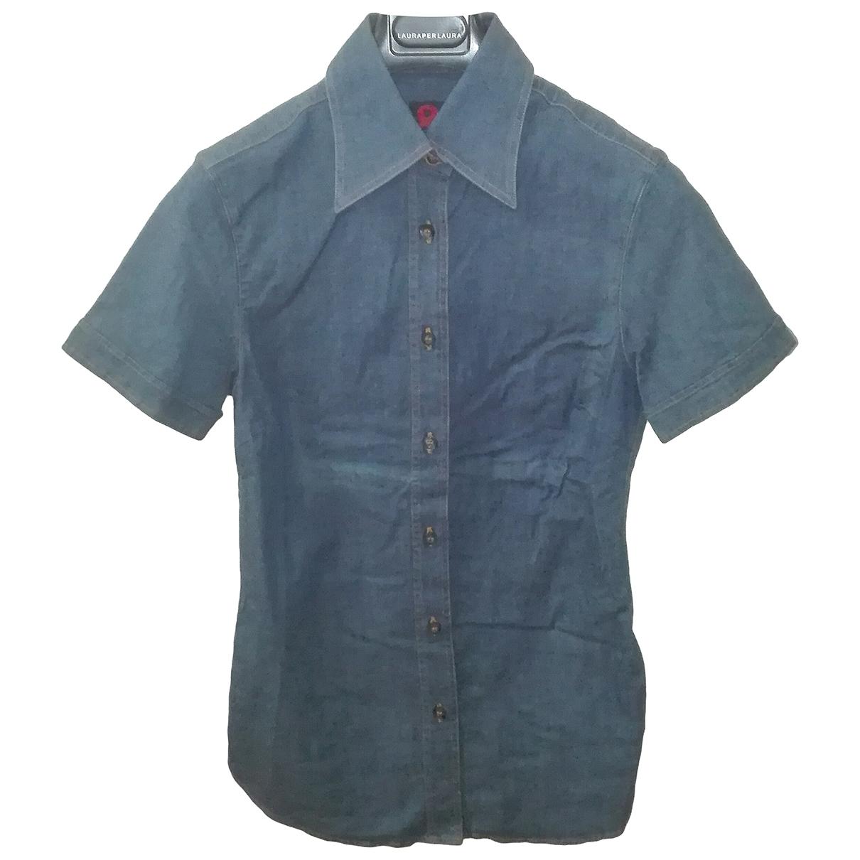 D&g \N Blue Cotton  top for Women 40 IT