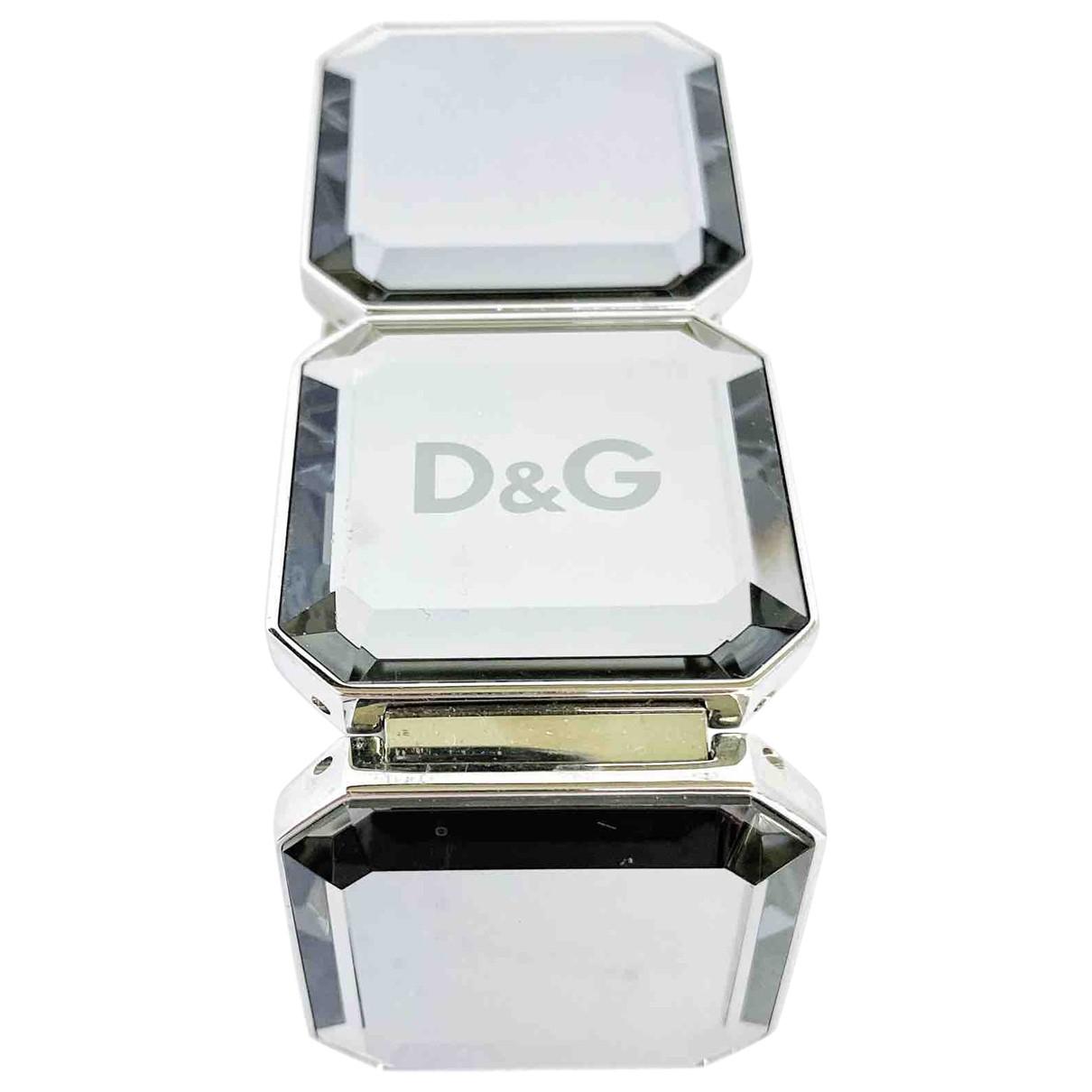 D&g - Bracelet   pour femme en metal - metallise