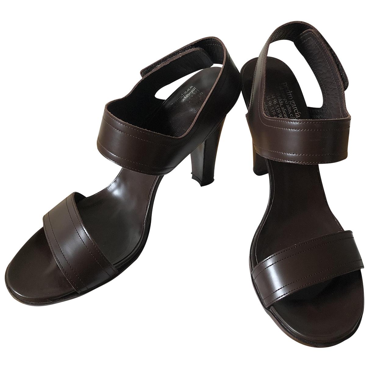 Sandalias de Cuero Pedro Garcia