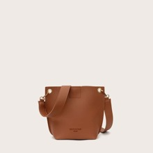 Minimalist Buckle Crossbody Bag