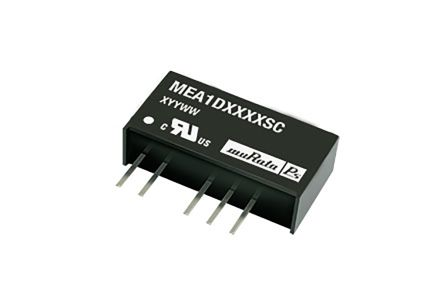 Murata Power Solutions MEA1 1W Isolated DC-DC Converter Through Hole, Voltage in 4.5 → 5.5 V dc, Voltage out