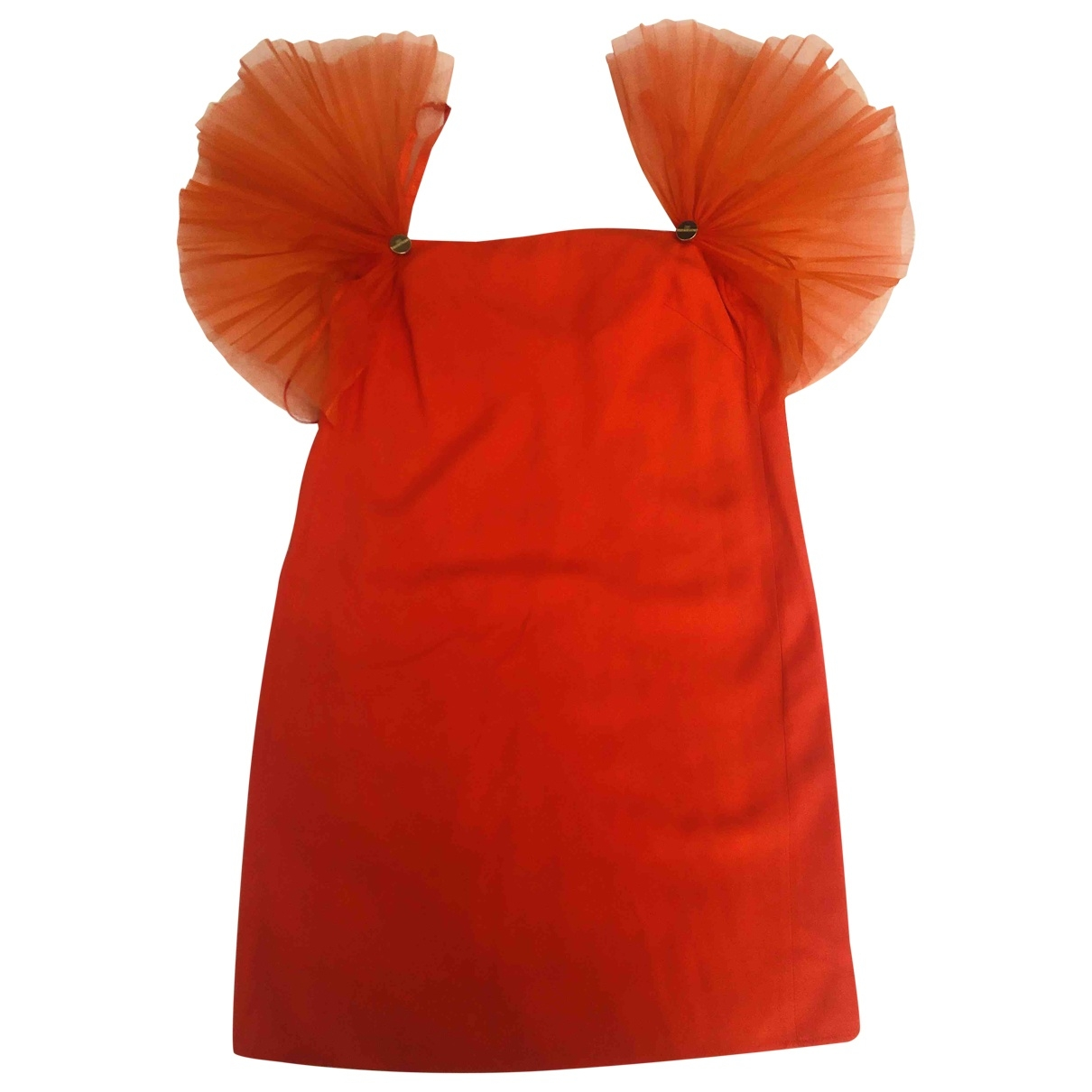 Elisabetta Franchi \N Orange dress for Women 42 FR