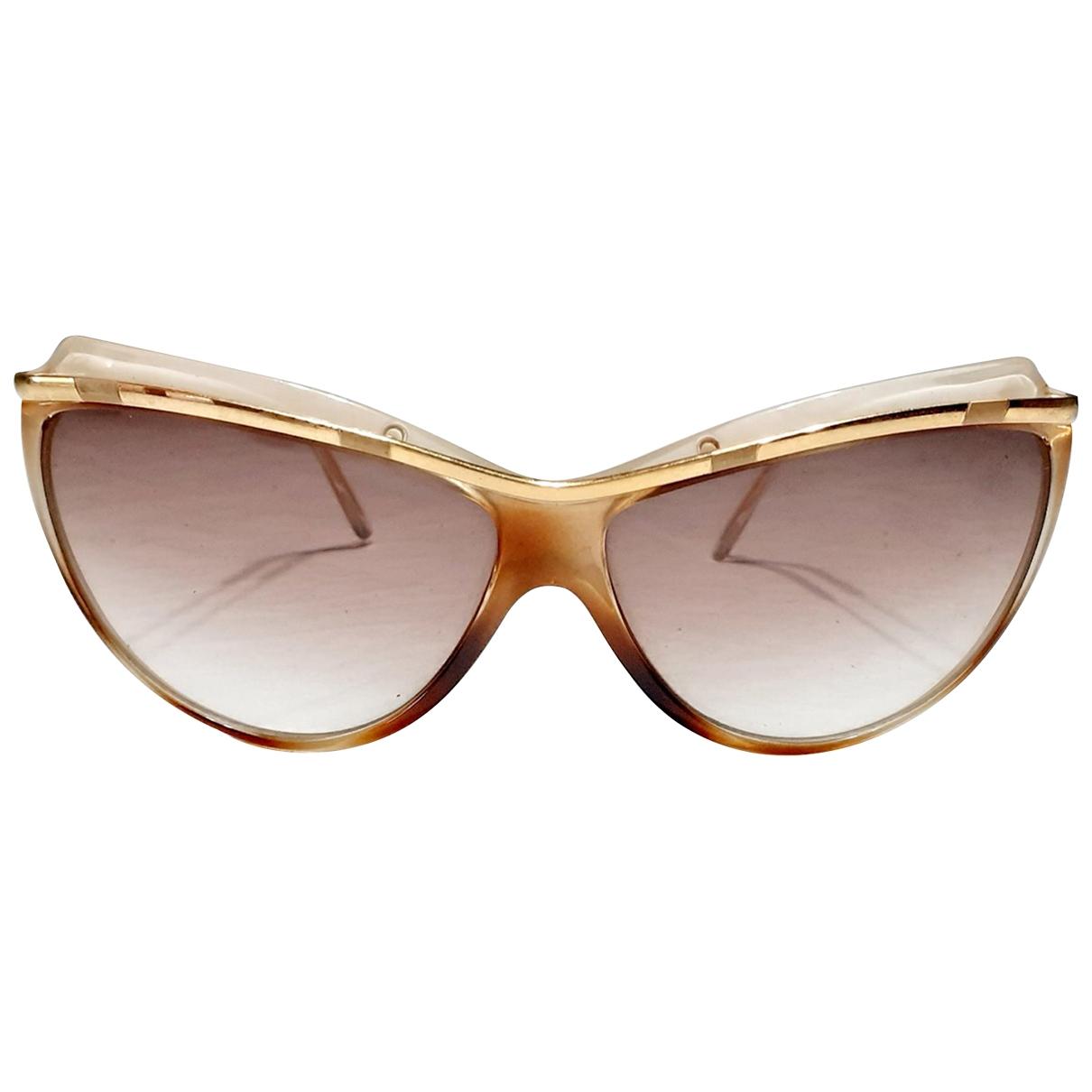 Charles Jourdan \N Sonnenbrillen in  Braun Metall