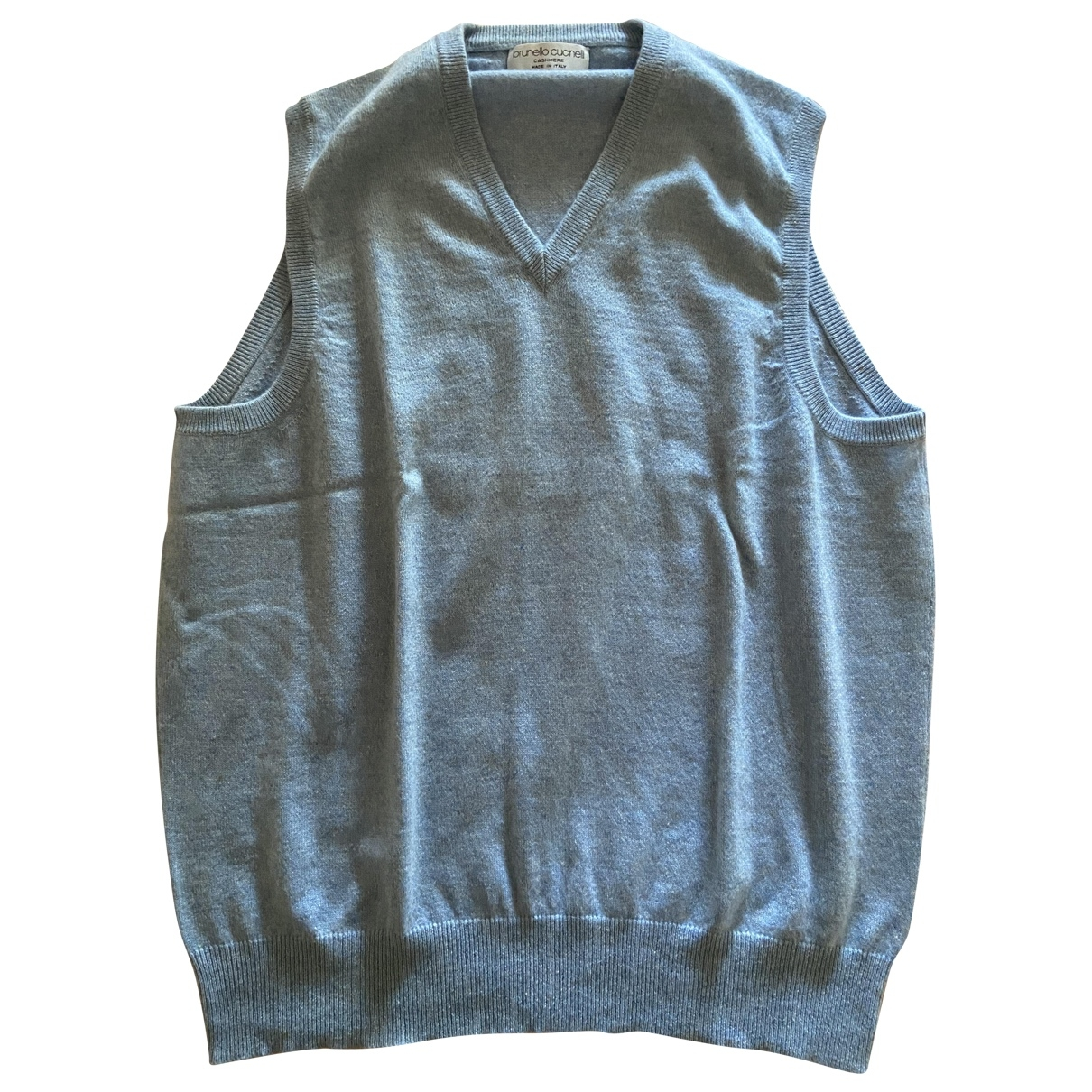 Brunello Cucinelli \N Blue Cashmere Knitwear & Sweatshirts for Men 54 IT