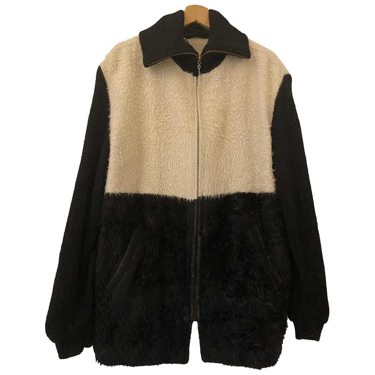 Agnona \N Jacke in  Schwarz Wolle