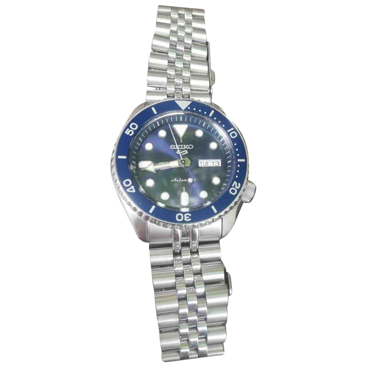 Seiko N Metallic Steel watch for Men N