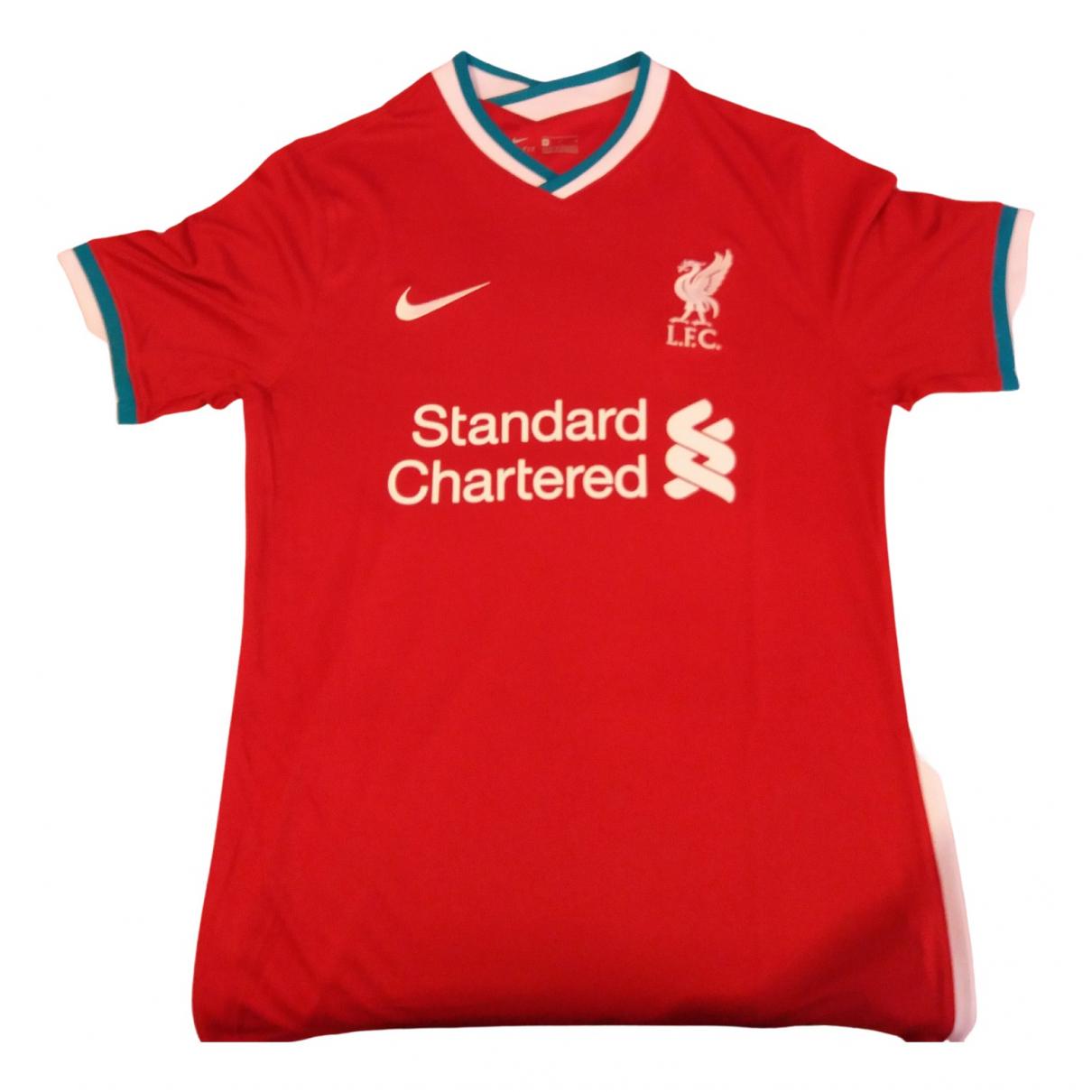 Nike N Red Lycra T-shirts for Men M International