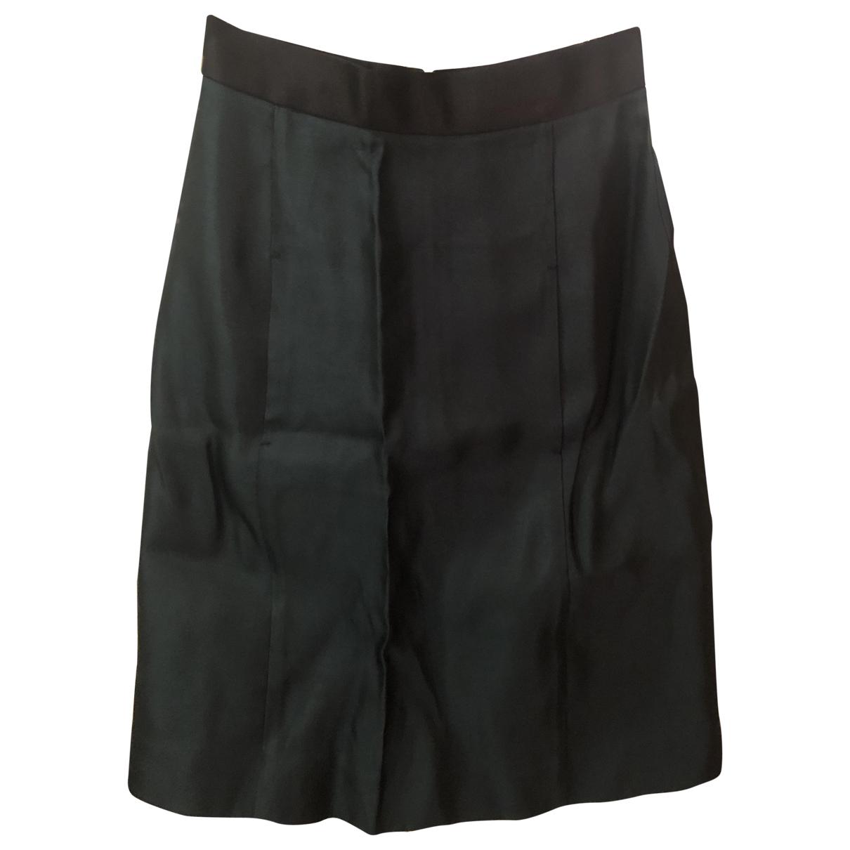 Miu Miu N Green Silk skirt for Women 38 IT
