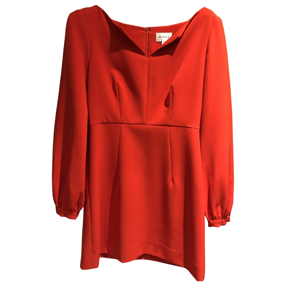 Milly \N Kleid in  Rot Polyester