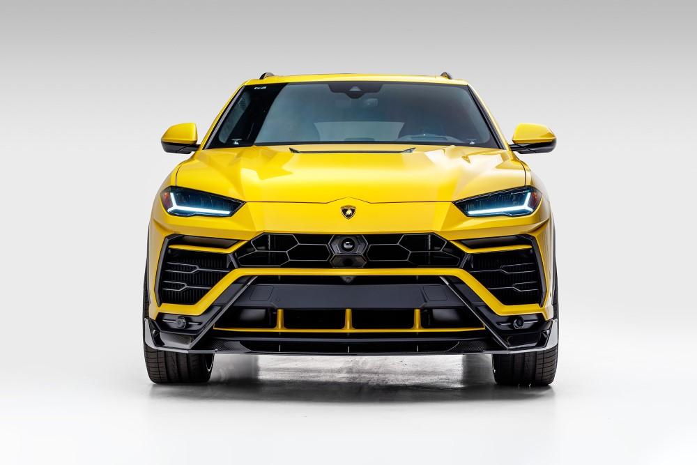 Vorsteiner 2025LOV UX-07 Edizione Aero Carbon Fiber Front Airducts PP 2x2 Glossy Lamborghini Urus
