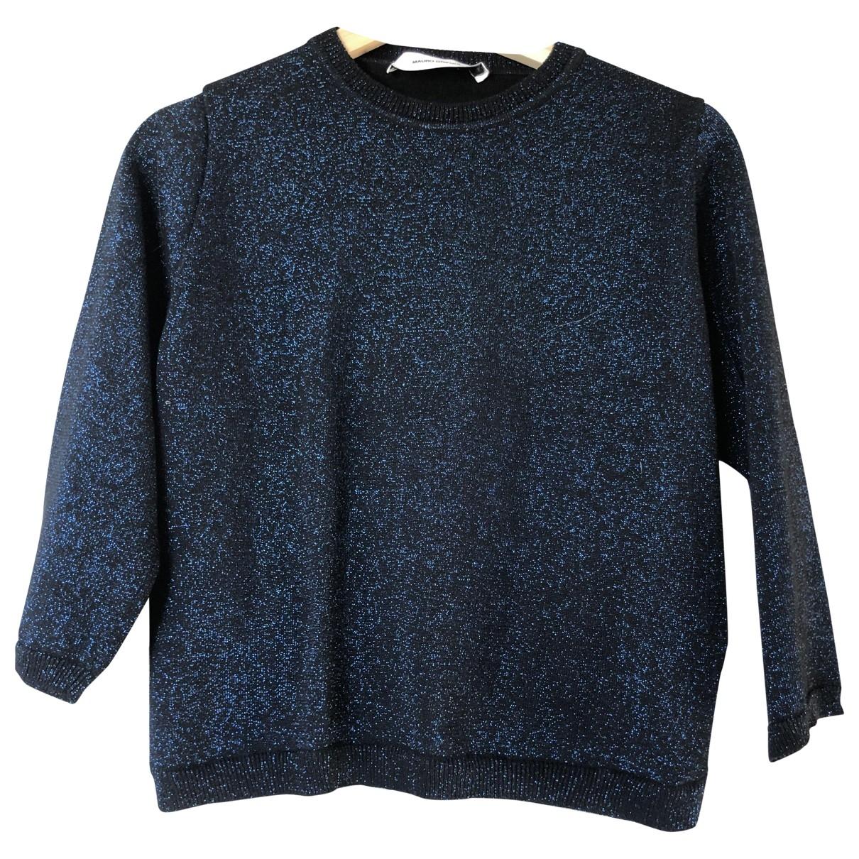 Mauro Grifoni - Pull   pour femme en coton - bleu