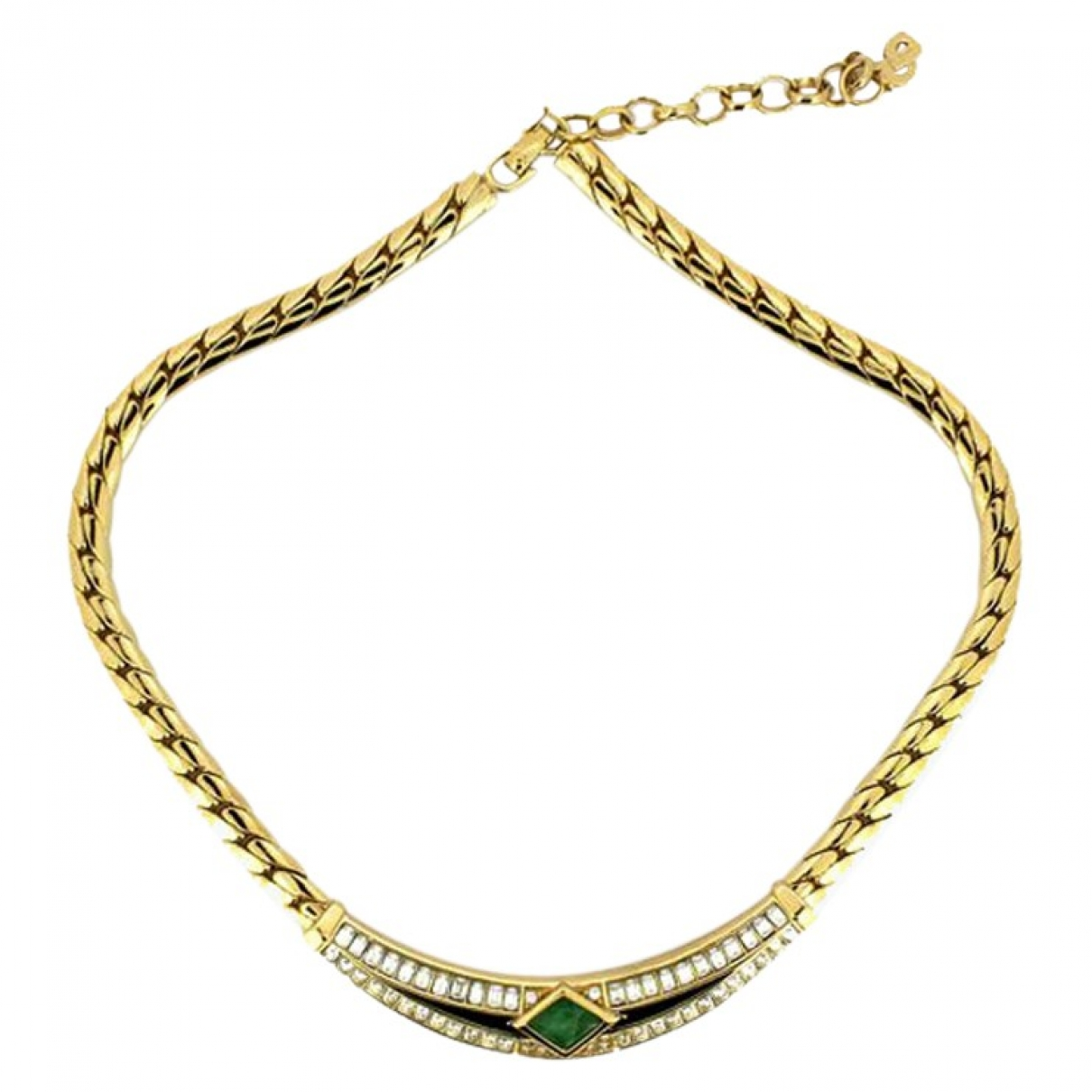 Dior \N Gold Gold plated necklace for Women \N