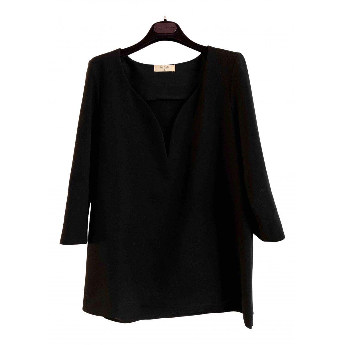 Ba&sh - Top   pour femme en coton - noir